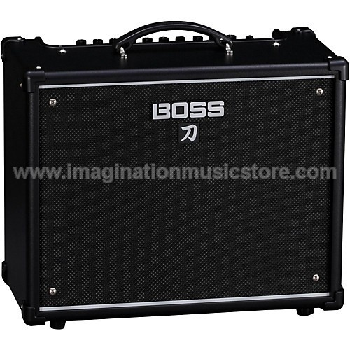"Boss Katana 50 - 50/25/0.5W 1x12"" Guitar Combo Amplifier"