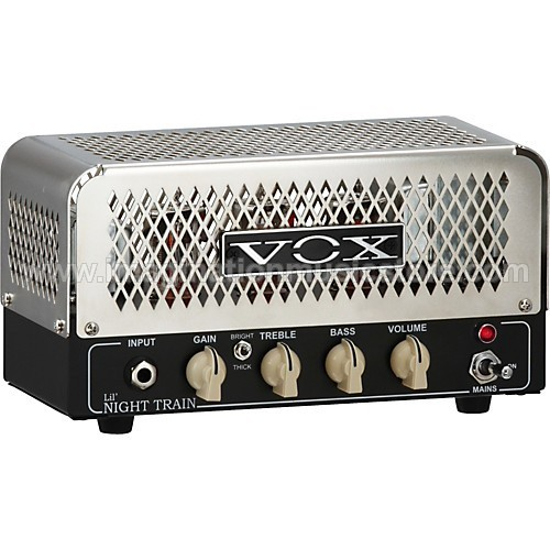 Vox NT2H Lil` Night Train 2W Tube Guitar Amp Head