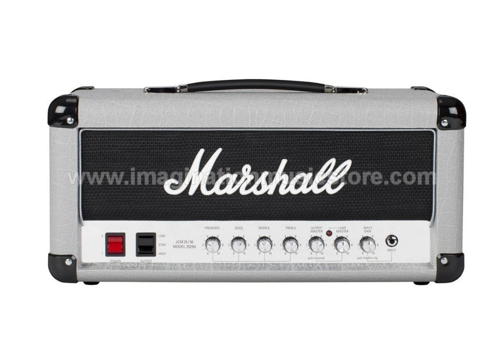 Marshall 2525H Mini Silver Jubilee 20/5 W Tube Head