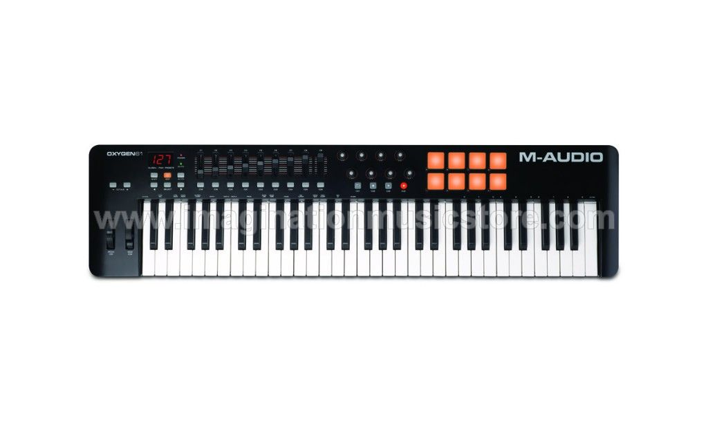 M-Audio Oxygen 61 MKIV VIP Performance Keyboard Controller