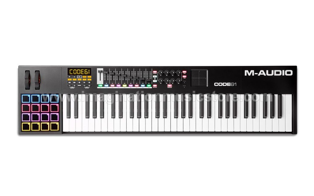 M-Audio Code 61 Black VIP Keyboard Controller with X/Y Pad
