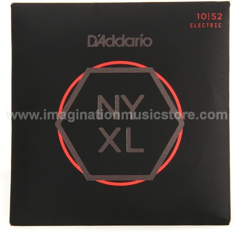 D`Addario NYXL1052 Nickel Wound Electric Strings .010-.052 Light Top Heavy Bottom