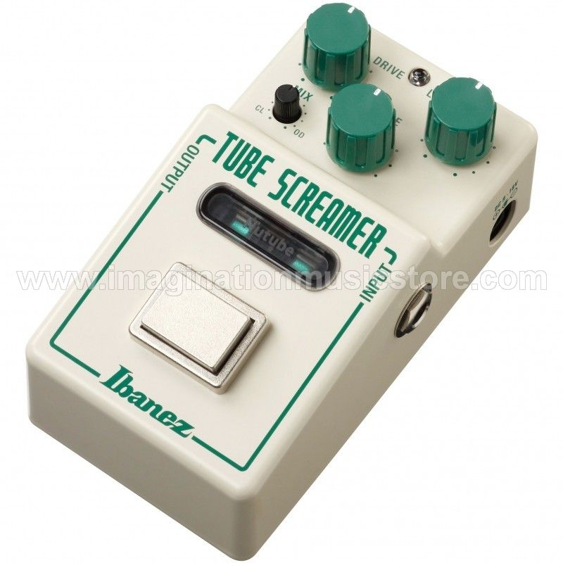 Ibanez Nu Tubescreamer Overdrive Pedal with Nutube