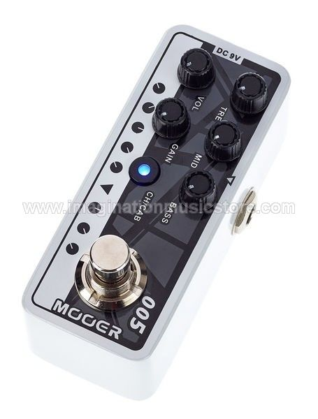 Mooer Micro PreAmp Brown Sound 3 based on EVH-5150