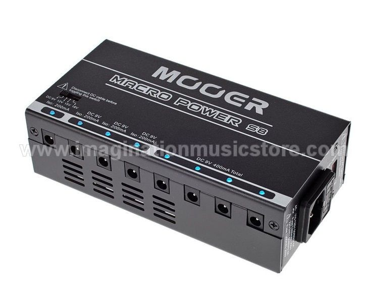 Mooer Macro Power S8 Isolated Power Supply