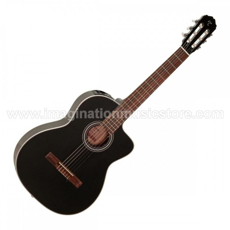 Takamine GC1CE Acoustic Electric Nylon - Black