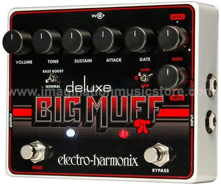 Electro-Harmonix Deluxe Big Muff Pi Fuzz Pedal with Mid-Shift