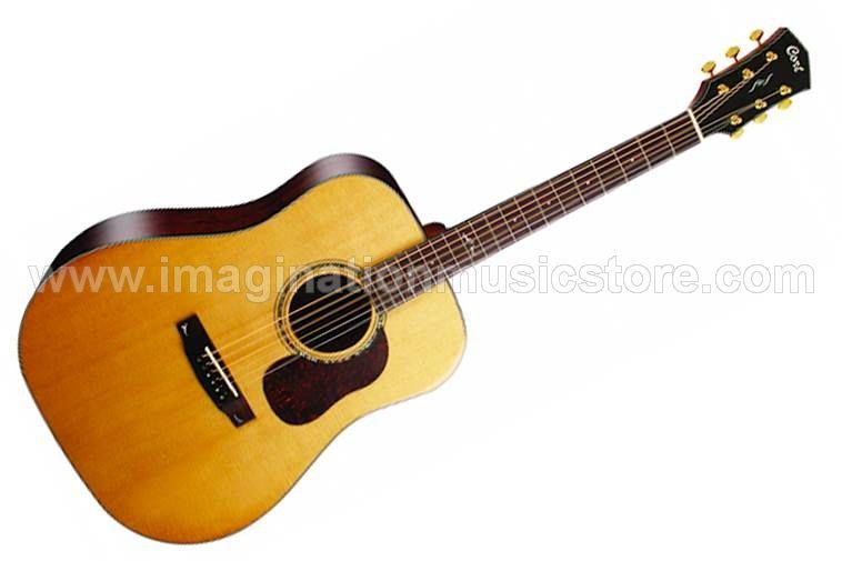 Cort Gold Series D6 Dreadnought Acoustic Guitar with Hardcase
