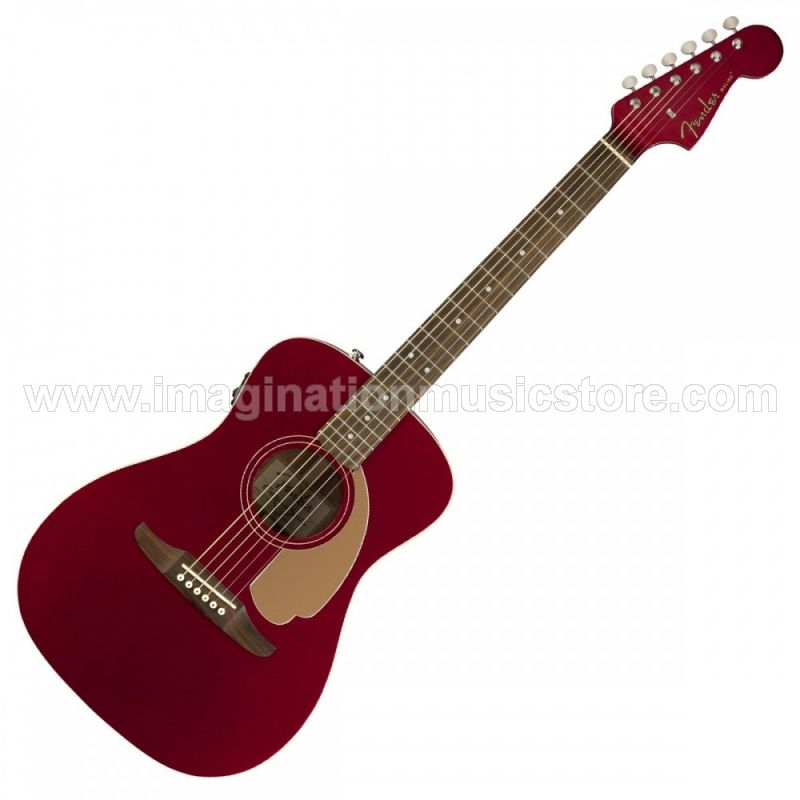 Fender Malibu Player - Candy Apple Red