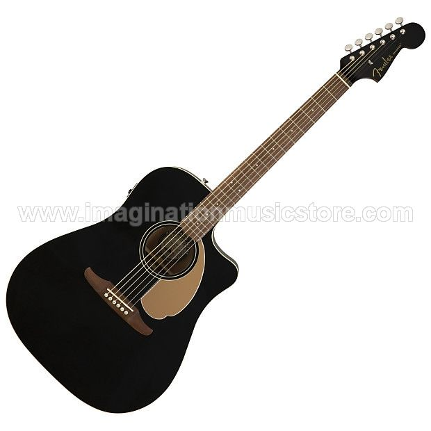 Fender Redondo Player - Jetty Black