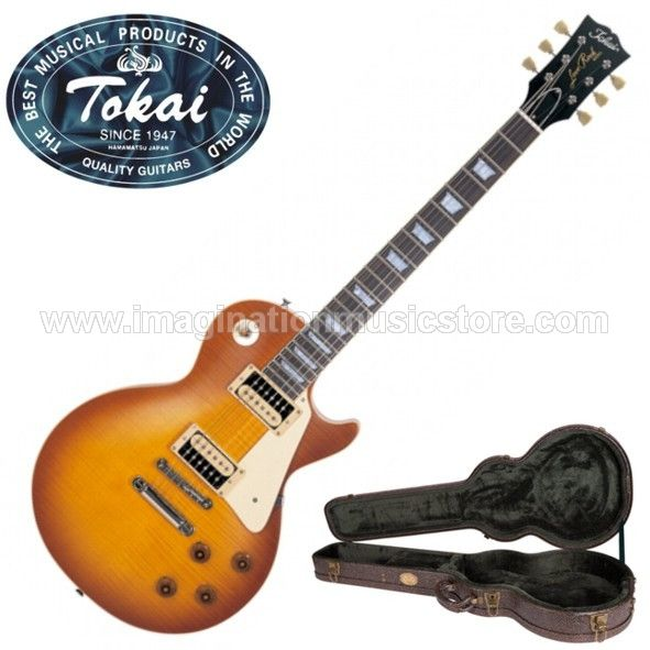 Tokai Love Rock Japan LS128F VF Violin Finish with Zebra Humbuckers