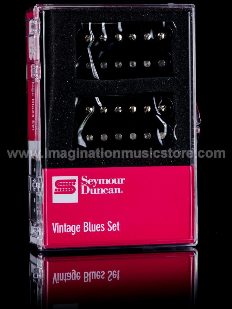Seymour Duncan SH-1 Vintage Blues 59 Model Pickup Set - Black