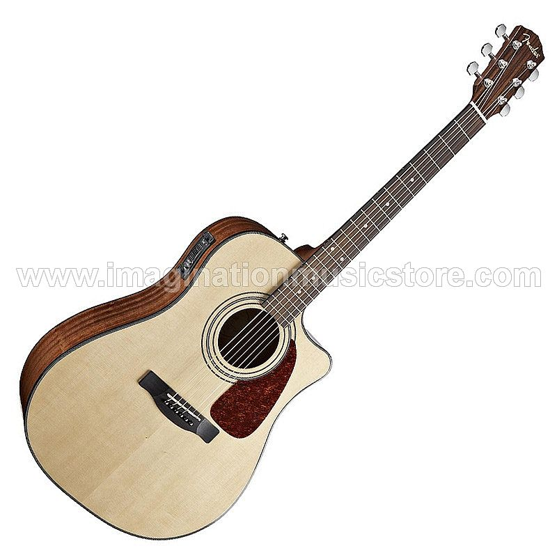 Fender CD-140SCE Acoustic Electric Guitar Natural