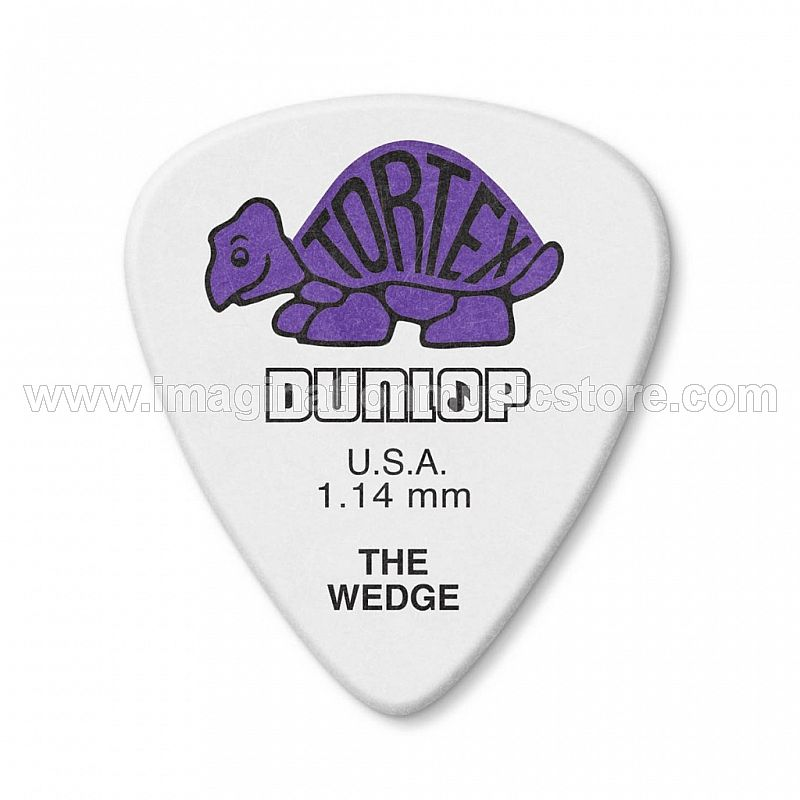 Dunlop Tortex 1.14mm Purple The Wedge