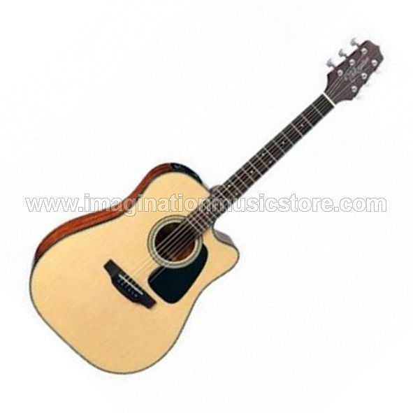 Takamine ED2DC Dreadnought Cutaway Acoustic Electric - Natural