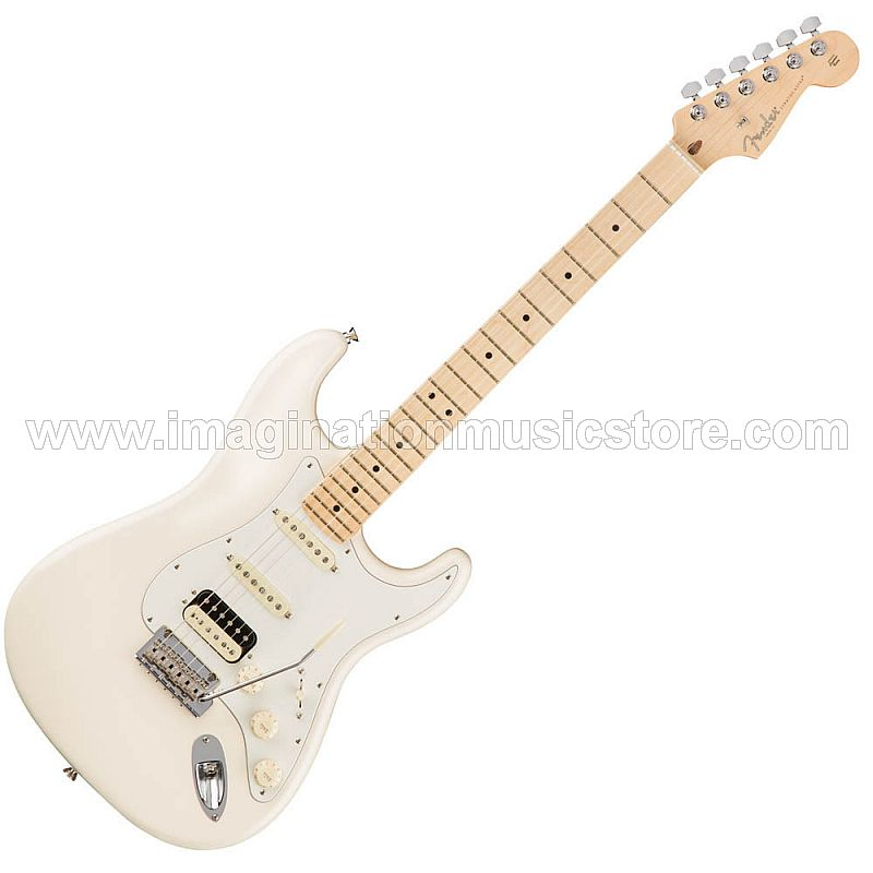 Fender American Professional HSS Shawbucker Stratocaster MN Olympic White