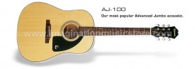 Epiphone AJ-100 Natural (NA) Acoustic Guitar