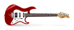 Cort G220 CAR RW Candy Apple Red