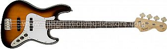Squier Affinity Jazz Bass Brown Sunburst w/Rosewood Fingerboard