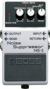Boss NS-2 Noise Suppressor and Power Supply Pedal