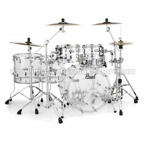 Pearl Crystal Beat 6-Piece Shell Pack Ultra Clear