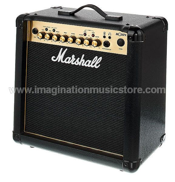 Marshall MG15GFX 15-watt 1x8 inch Combo Amp w/ Effects