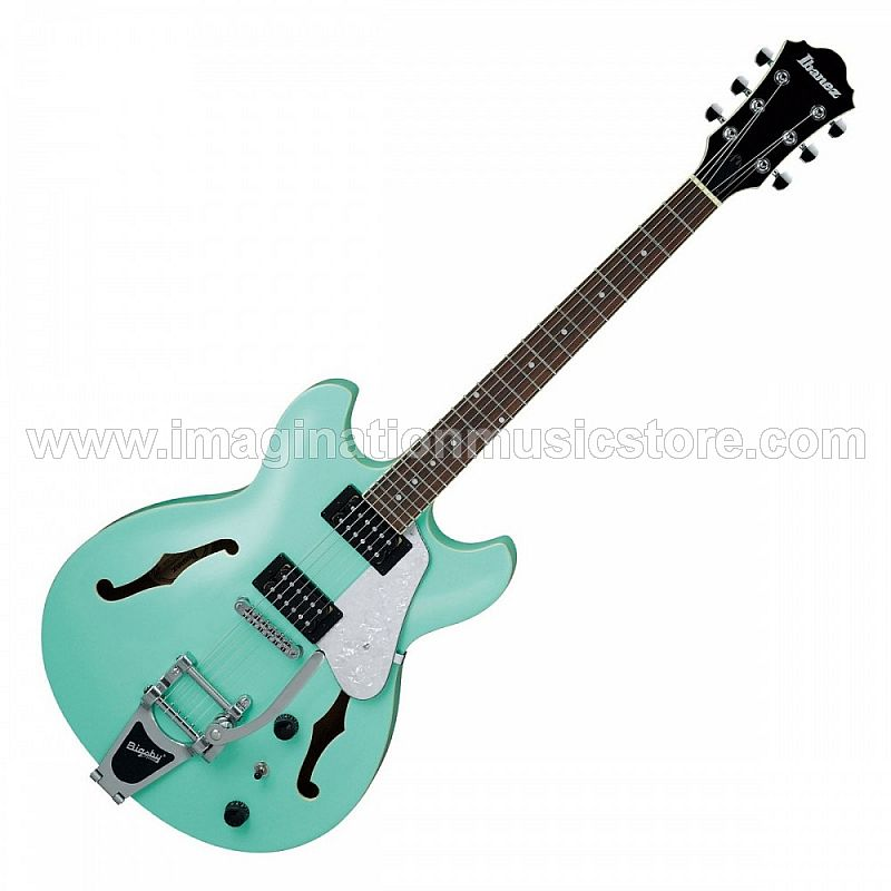 Ibanez AS63T-SFG Semi-Hollow Guitar In Sea Foam Green
