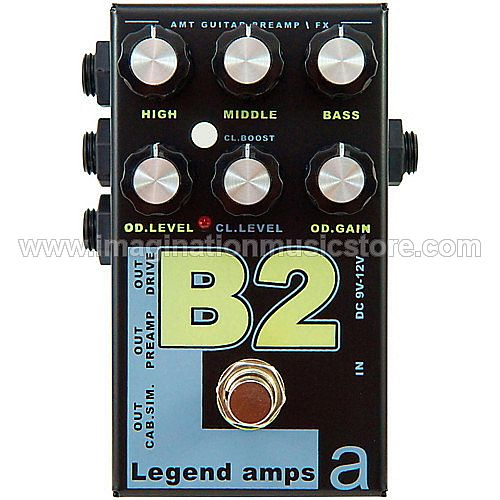 AMT Electronics B2 – LA2 Guitar Preamp / Distortion Pedal