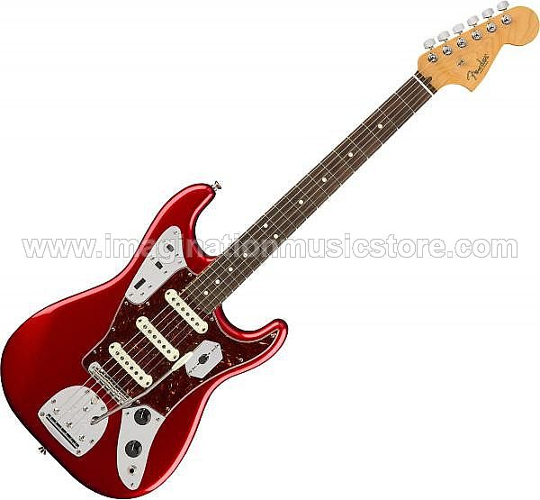 Fender Limited Edition Parallel Universe Jag Stratocaster RW - Candy Apple Red
