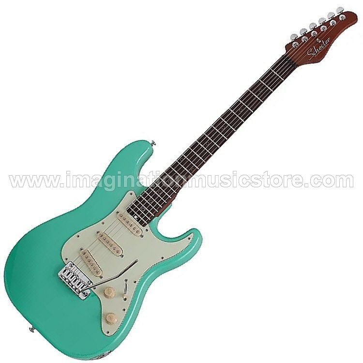 Schecter Nick Johnston Traditional - Atomic Green