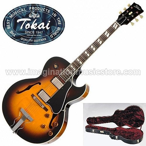 Tokai FA-245 Full Hollow in Vintage Sunburst Premium Series