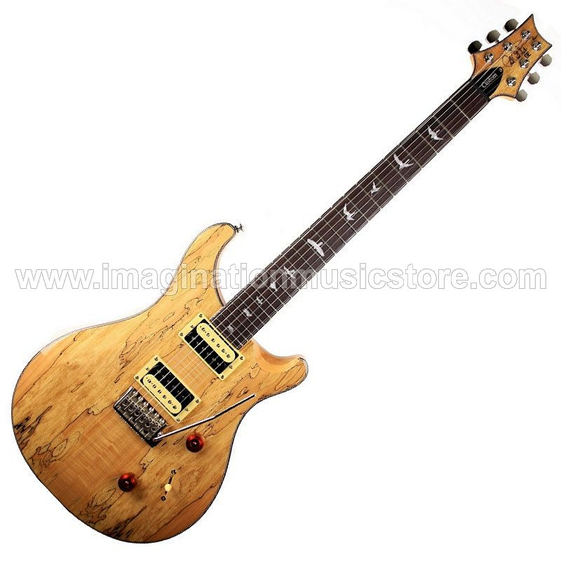 PRS SE 2019 Exotic Wood Custom 24 Spalted Maple Limited Edition
