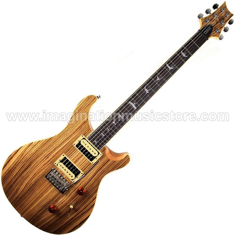 PRS SE 2019 Exotic Wood Custom 24 Zebrawood Limited Edition