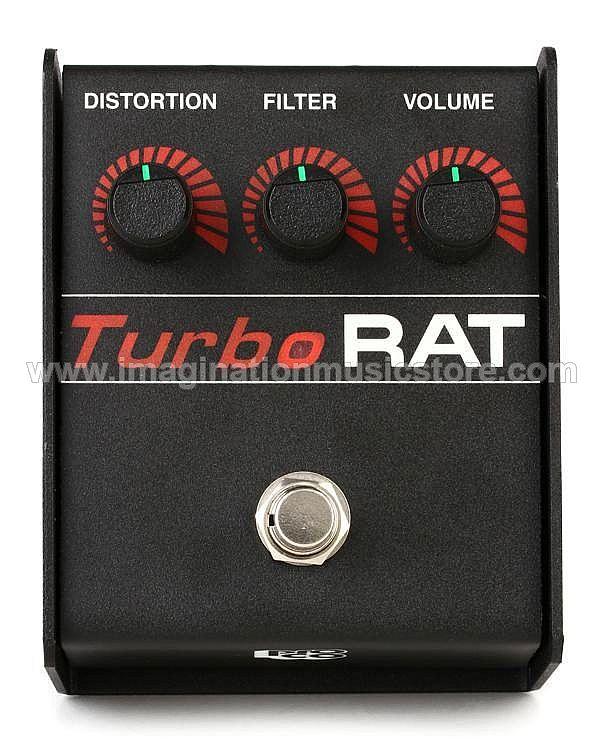 Pro Co TurboRat Distortion / Fuzz / Overdrive Pedal