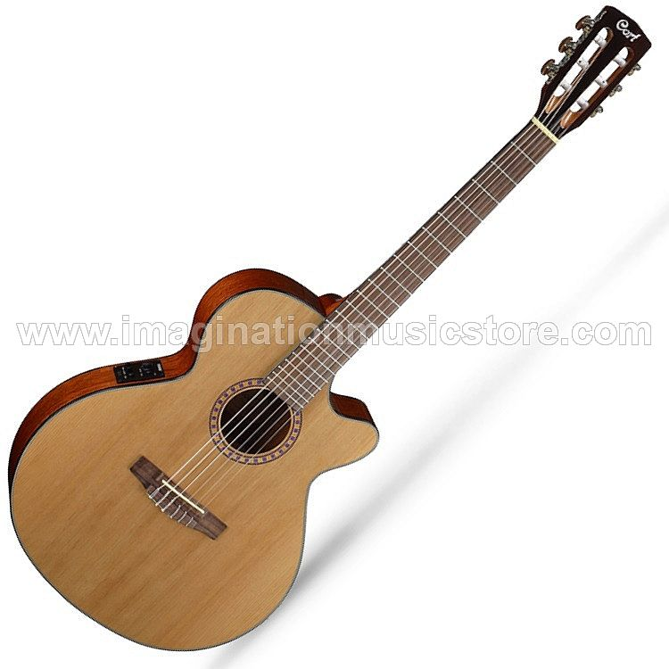 Cort CEC 5 Nylon Acoustic Electric in Natural