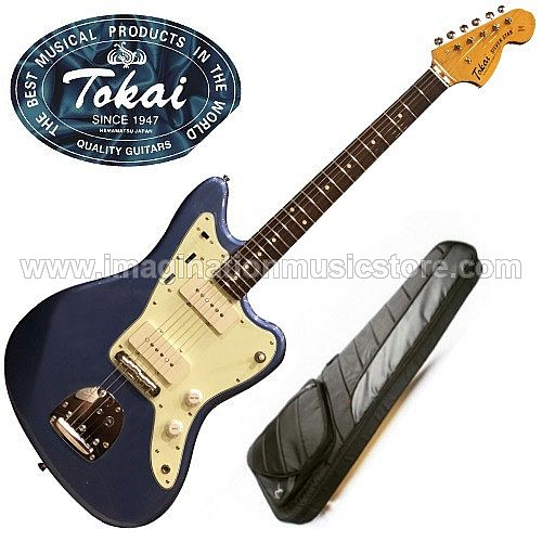 Tokai AJM-140 Silverstar Offset in Old Lake Placid Blue
