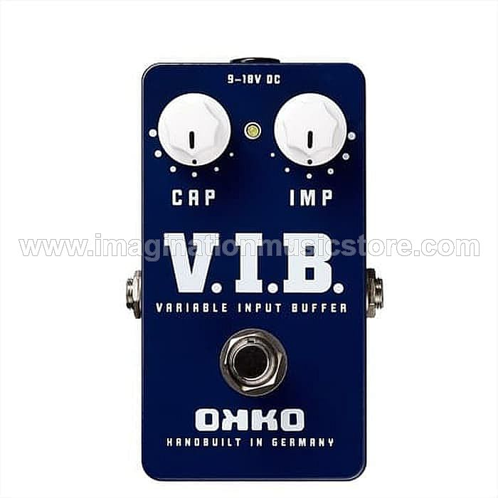 OKKO VIB Unity Gain Buffer with Switchable Impedance and Capacity