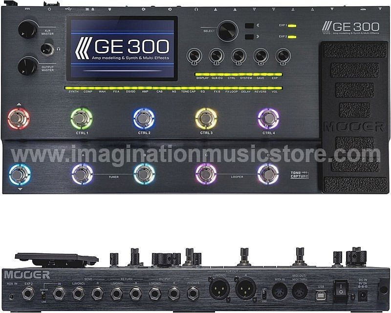 Mooer GE-300 Multi Effects and Amp Modelling