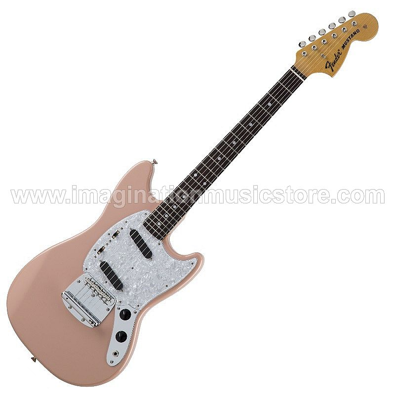 Fender Japan Traditional `70s Mustang in Flamingo Pink