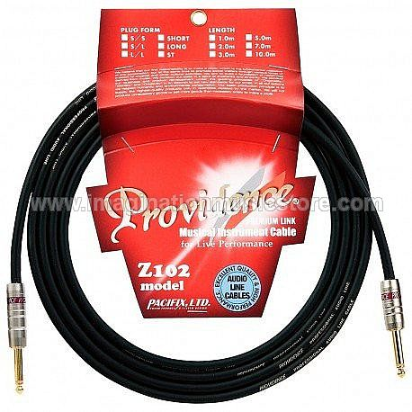 Providence Z102 Musical Instrument Cable (S/S) 1m for Live Performance