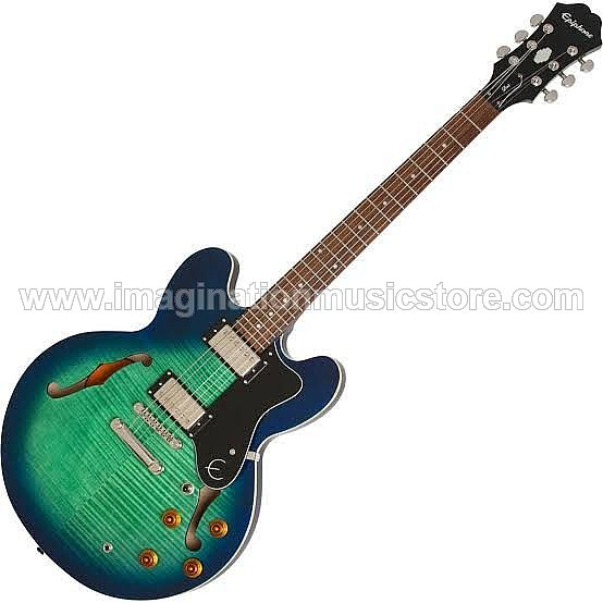 Epiphone ES-335 Pro Limited Edition in Aquamarine