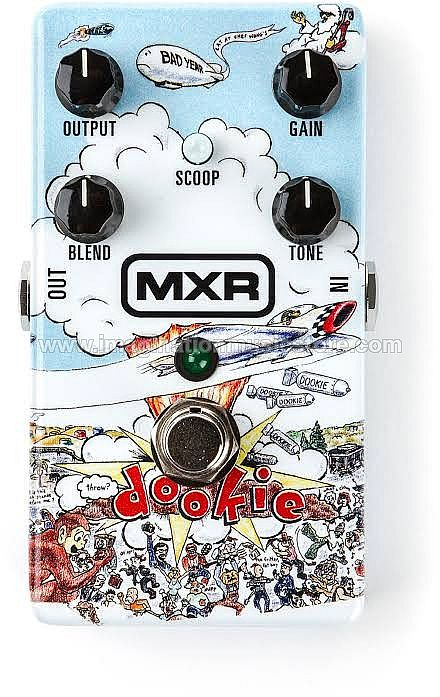MXR DD25 Green Day Dookie Drive Overdrive Pedal