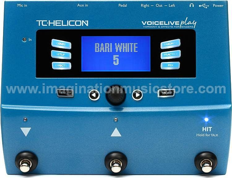 TC-Helicon VoiceLive Play Vocal Harmony and Effects