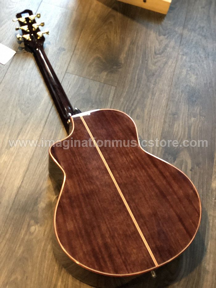 Galatasaray GT-QD1BLK in Transparent Black Full Solid Mahogany
