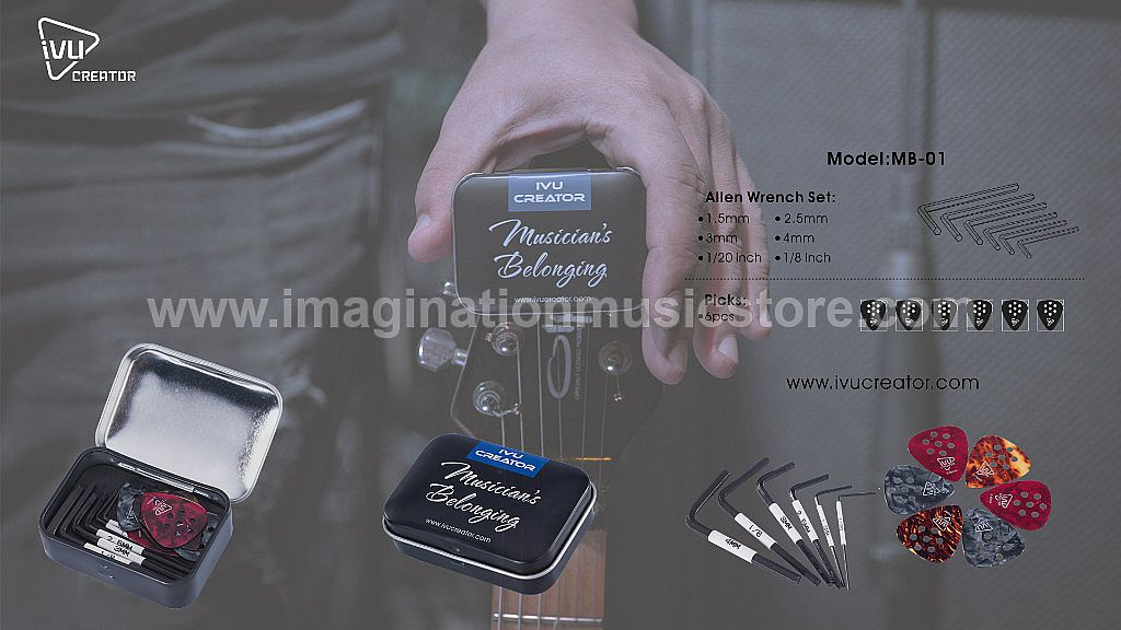 Ivu Creator Musician's Belonging Pick Set and Key Set