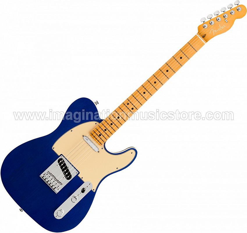 Fender American Ultra Telecaster - Cobra Blue with Maple Fingerboard