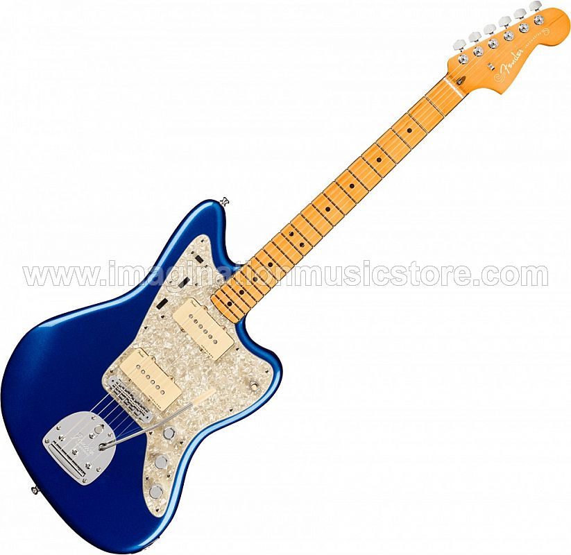 Fender American Ultra Jazzmaster - Cobra Blue with Maple Fingerboard