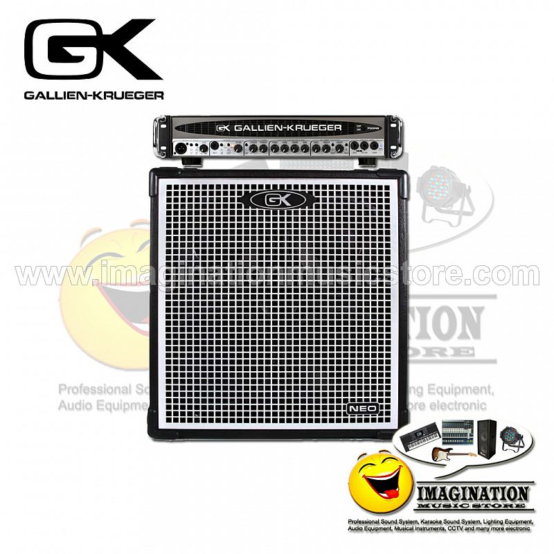 Gallien-Krueger 700RB-II Bass Head and Neo 410 Cabinet