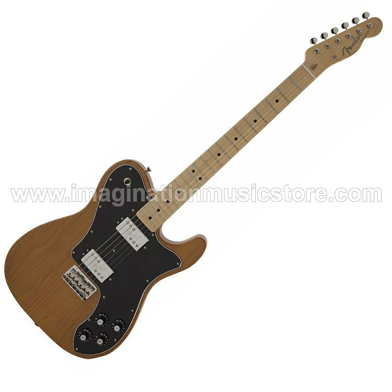 Fender Japan Hybrid Telecaster Deluxe Shawbucker in Natural