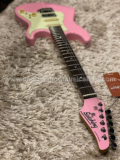 Soloking MS-1 Classic in Shell Pink and Roasted Maple Neck with Rosewood FB